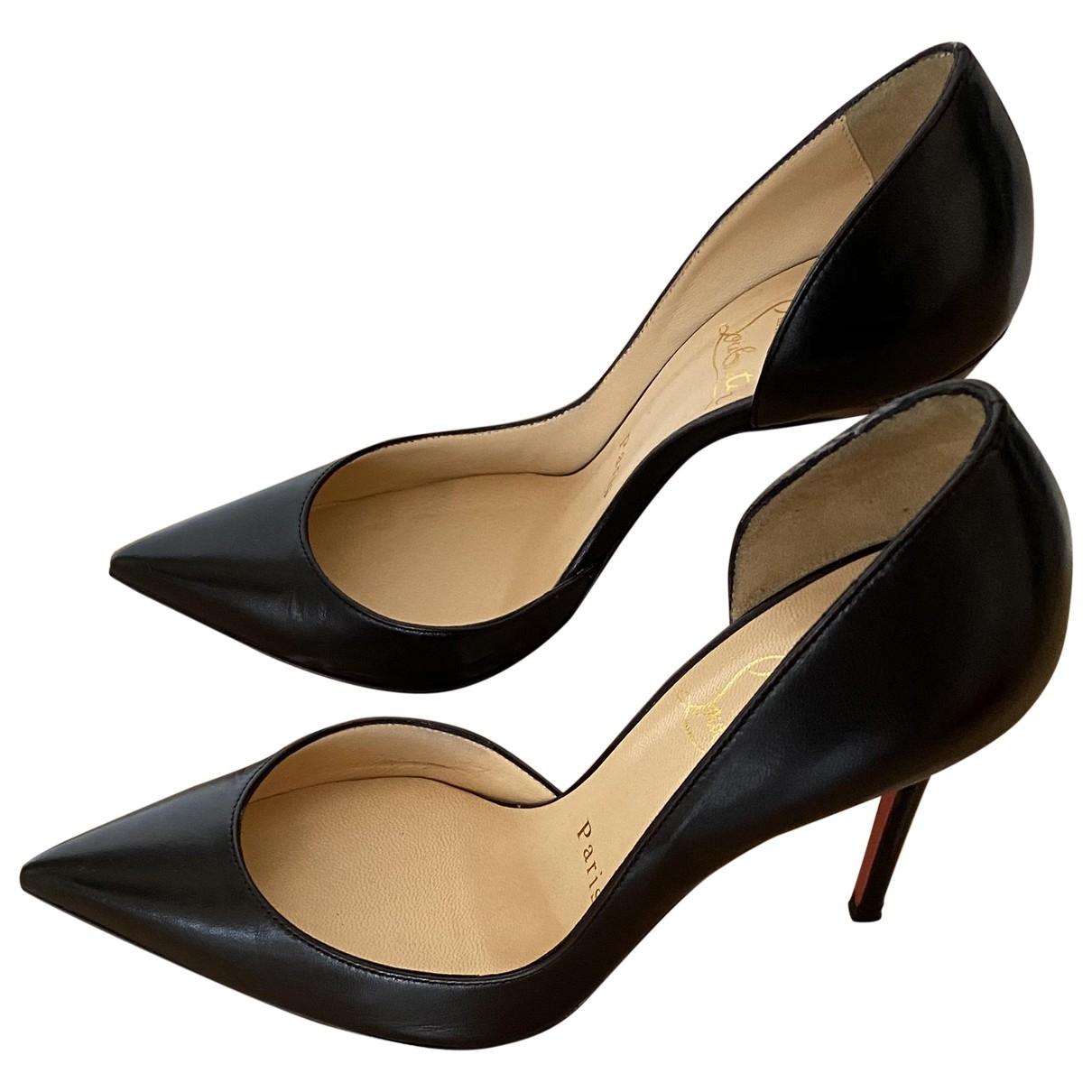 Christian Louboutin - Escarpins Iriza pour femme en cuir - noir