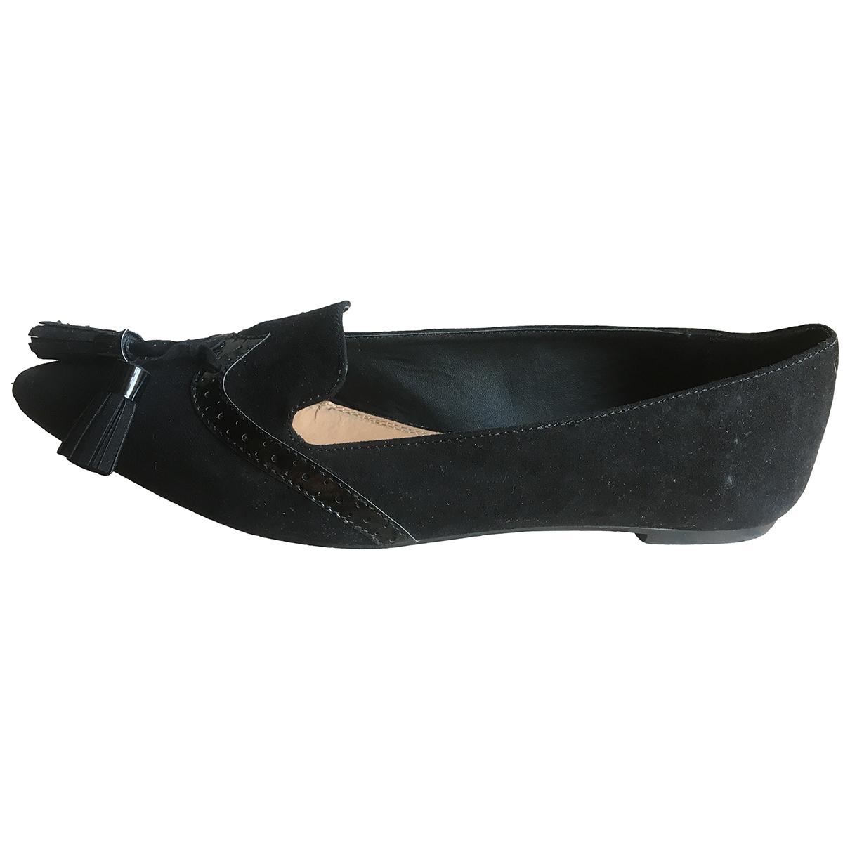 Asos \N Ballerinas in  Schwarz Polyester