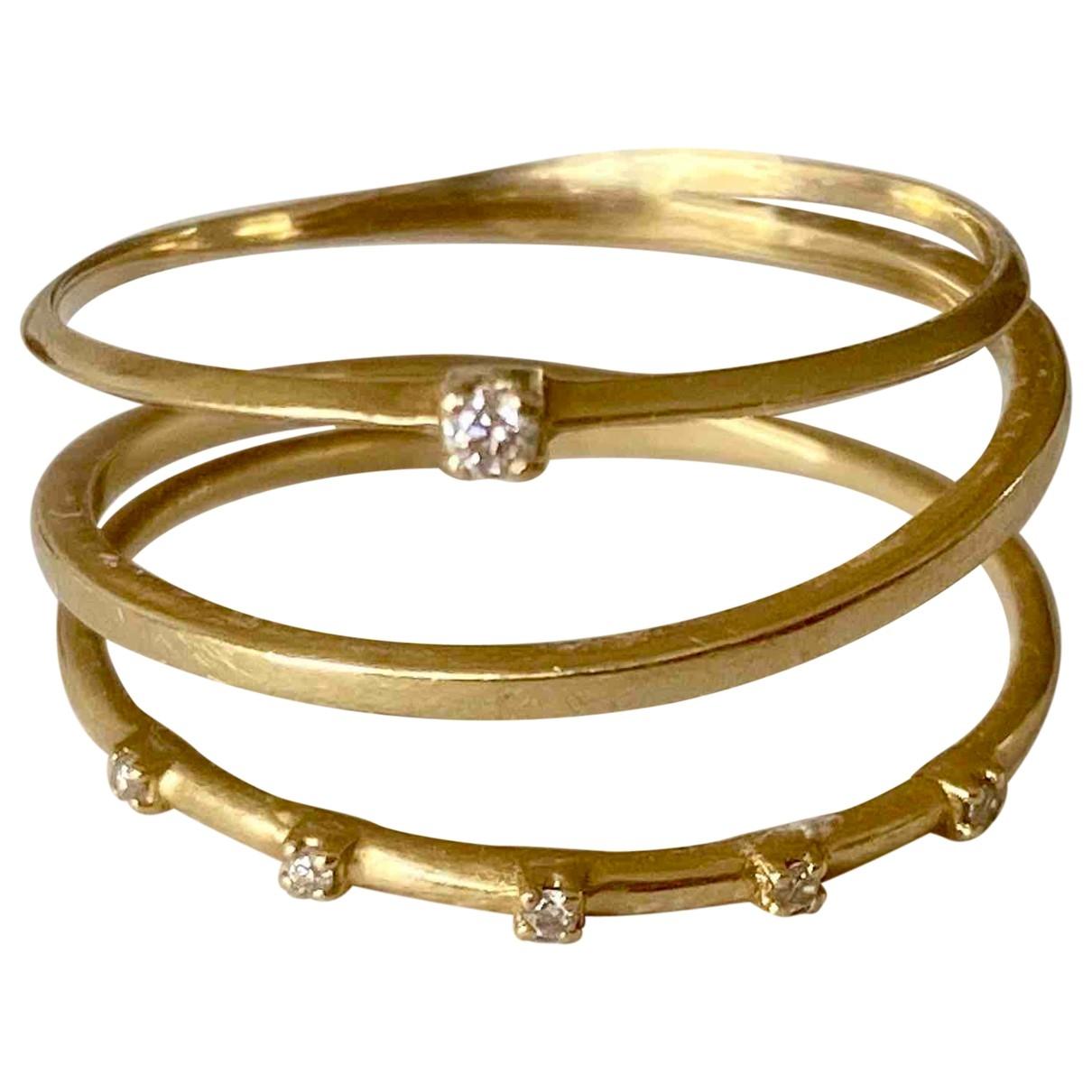 Sansoeurs - Bague   pour femme en or jaune - dore