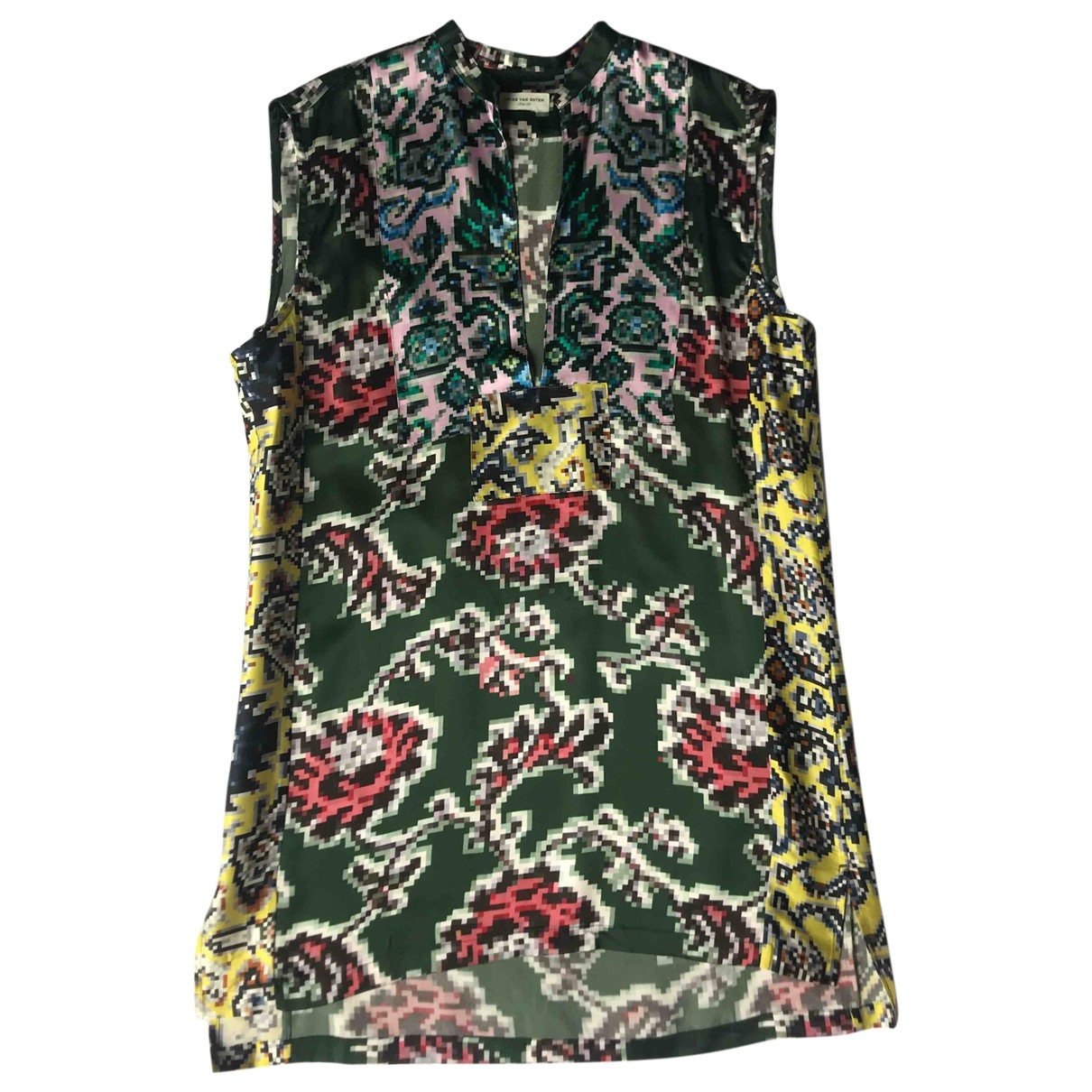 Dries Van Noten \N Top in  Bunt Seide