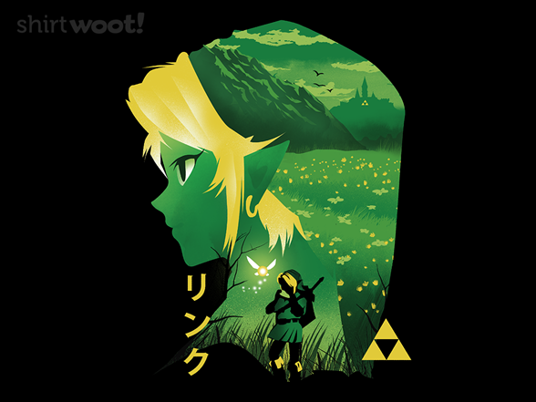 Hyrule Hero T Shirt