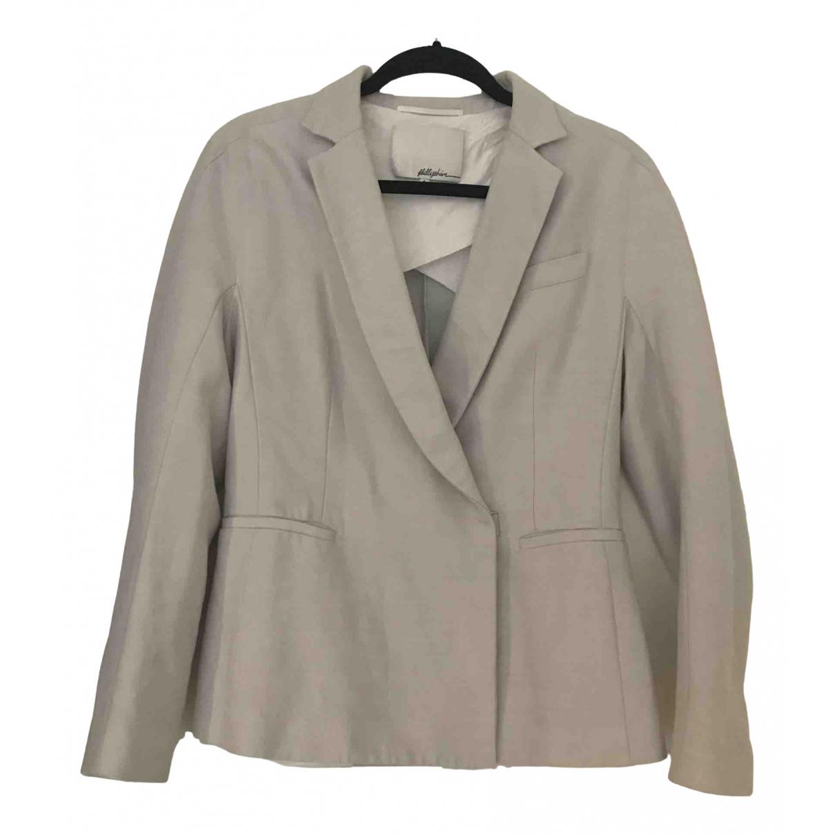 3.1 Phillip Lim - Veste   pour femme en laine - beige