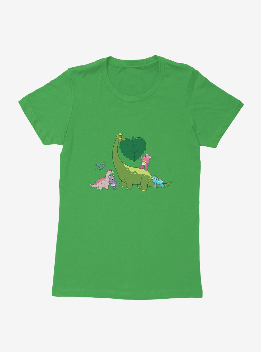 Care Bears Dino Love Womens T-Shirt