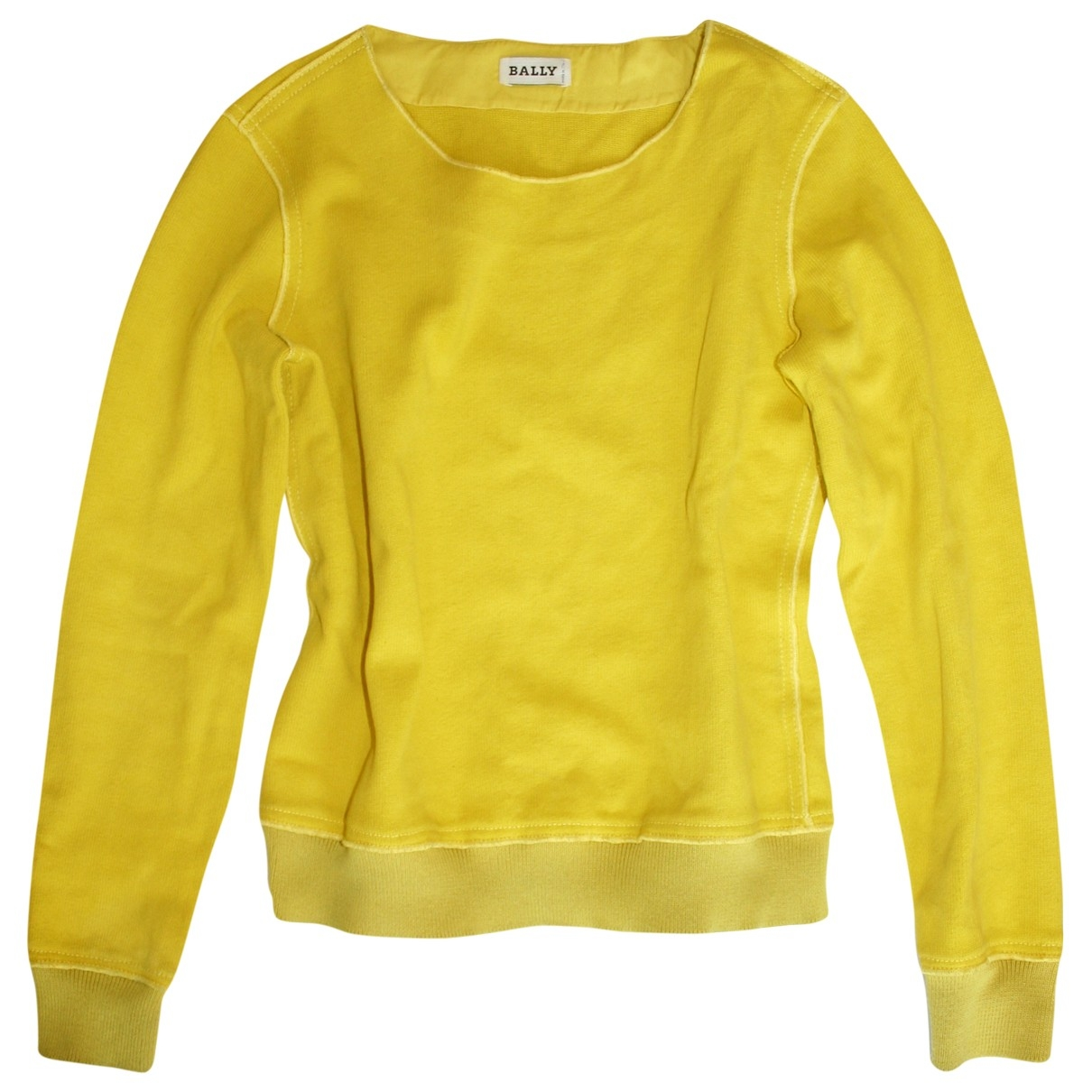 Bally \N Pullover in  Gelb Baumwolle