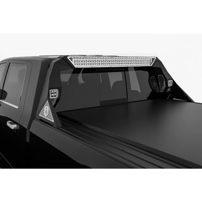 Road Armor iDentity Headache Rack (Bare Steel) - 4091DHRP-C1-MH