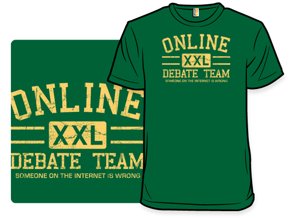 Online Debate Team T Shirt