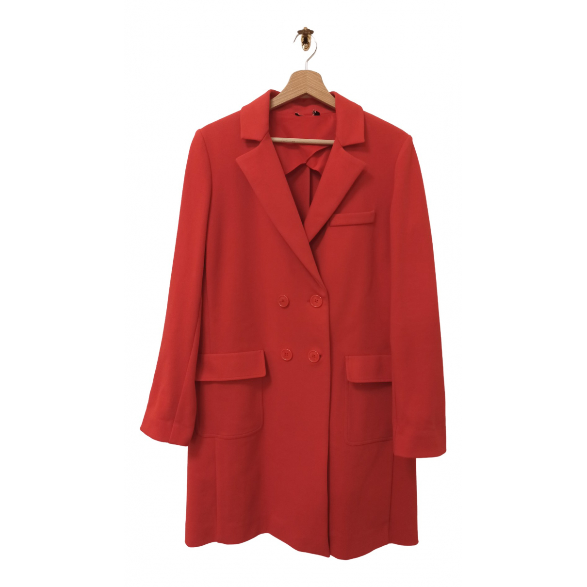 Intrend \N Red Cotton coat for Women 42 IT