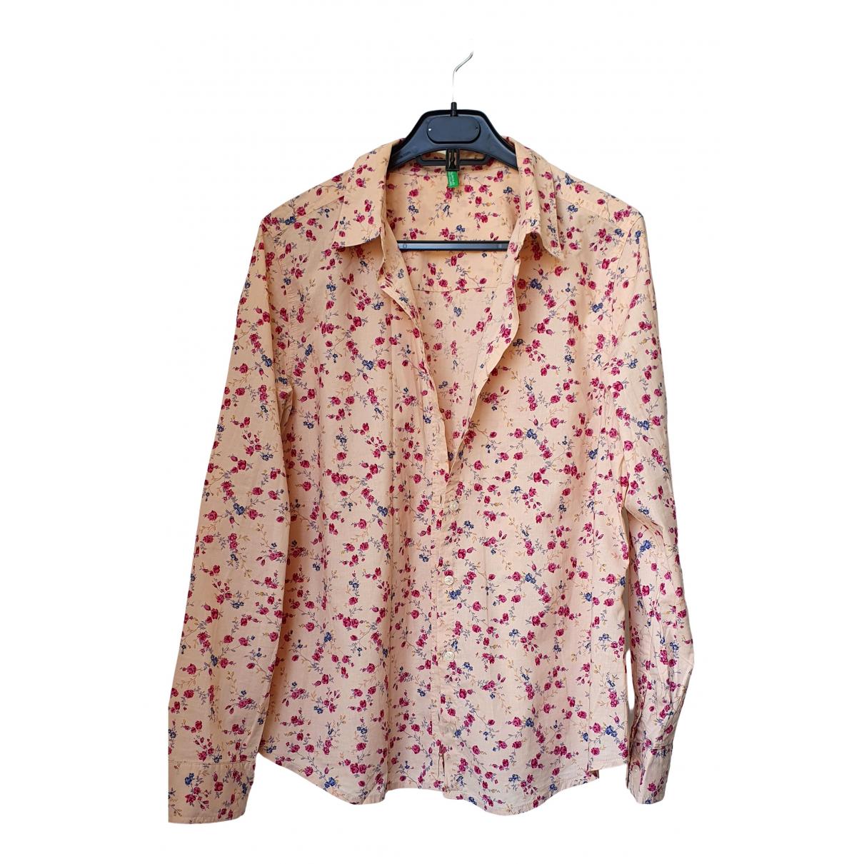- Top Hippie Chic pour femme en coton - beige