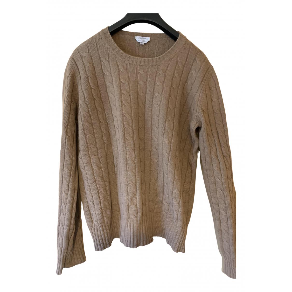 Max Mara \N Pullover in  Kamel Wolle