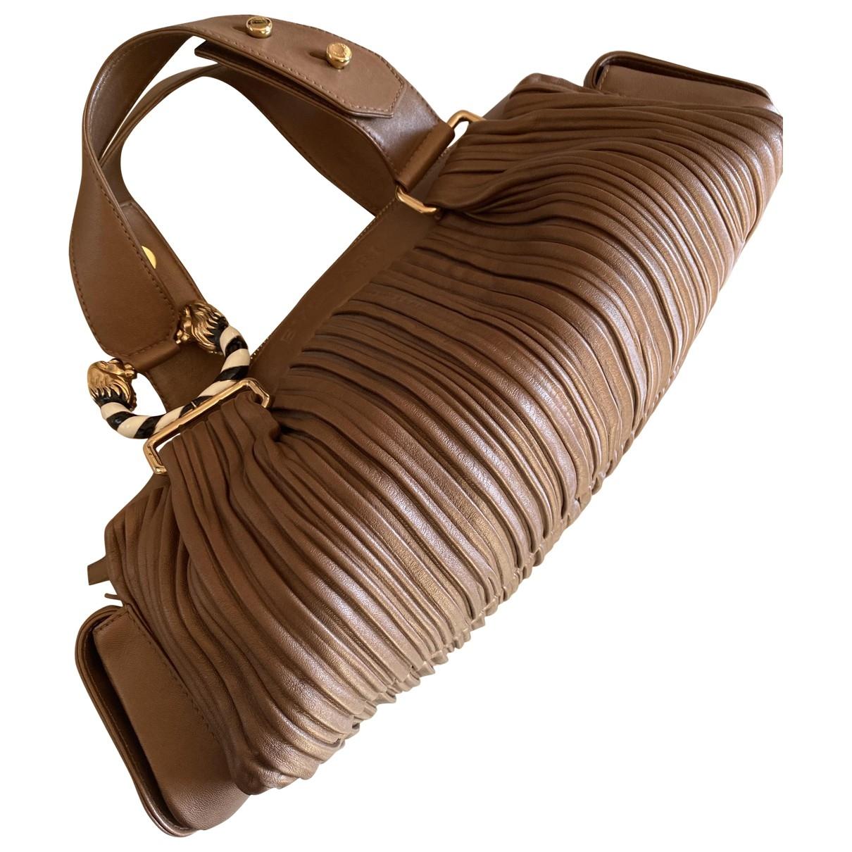 Bvlgari - Sac a main   pour femme en cuir - marron
