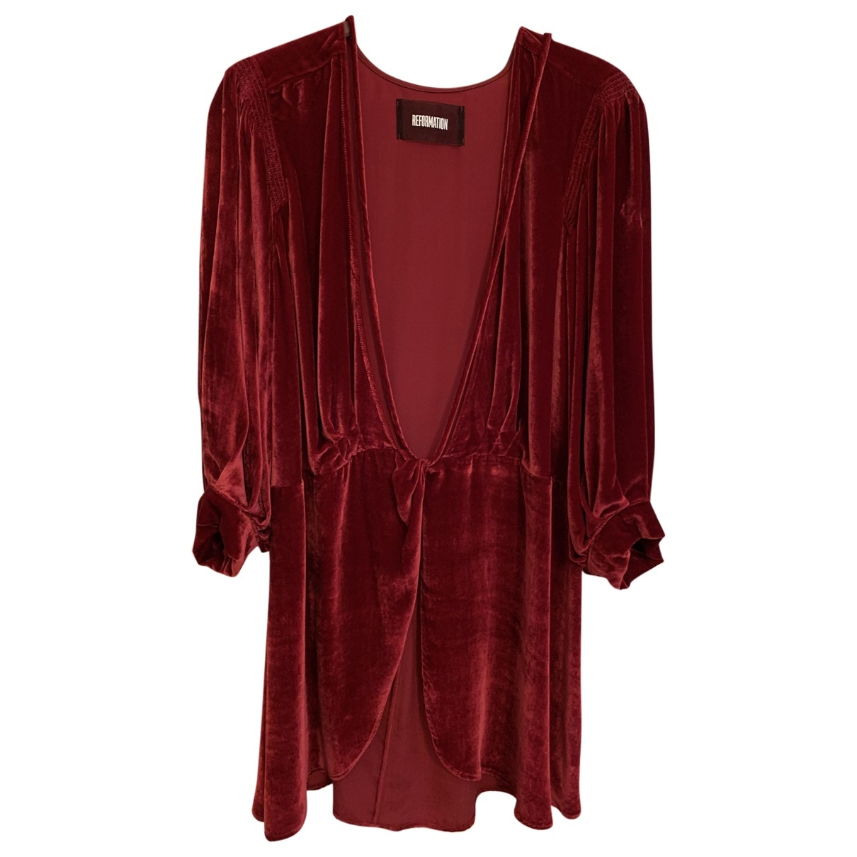 Reformation \N Red dress for Women S International