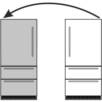 990016500 Door Reversal Kit for Compatible Liebherr
