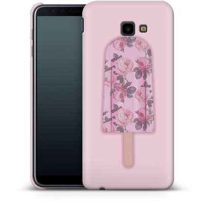 Samsung Galaxy J4 Plus Smartphone Huelle - Floral Popsicle von Emanuela Carratoni