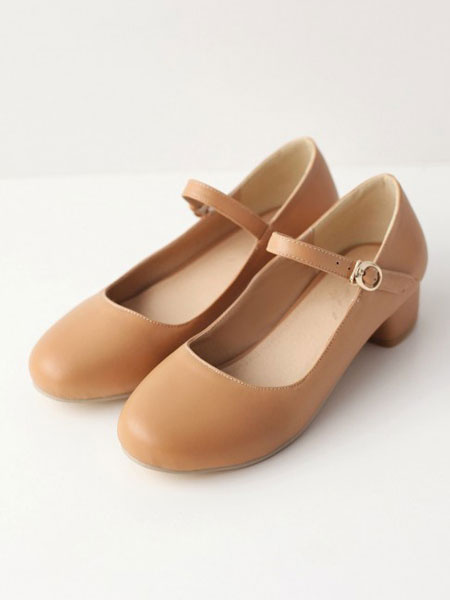 Milanoo Sweet Lolita Shoes Puppy Heel Lolita Mary Jane Shoes