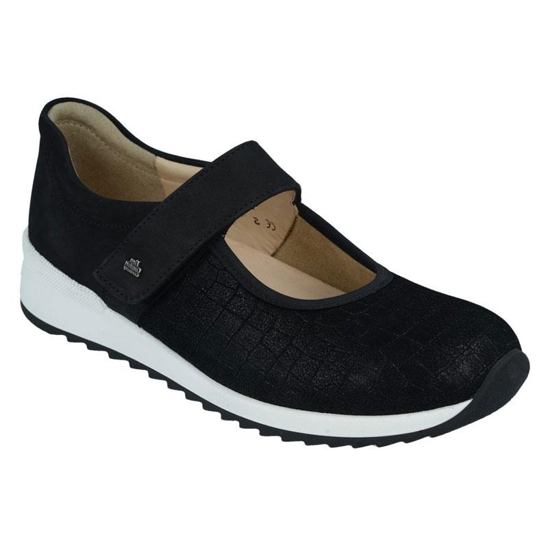 Finn Comfort Assenza Black Leather 75 Uk