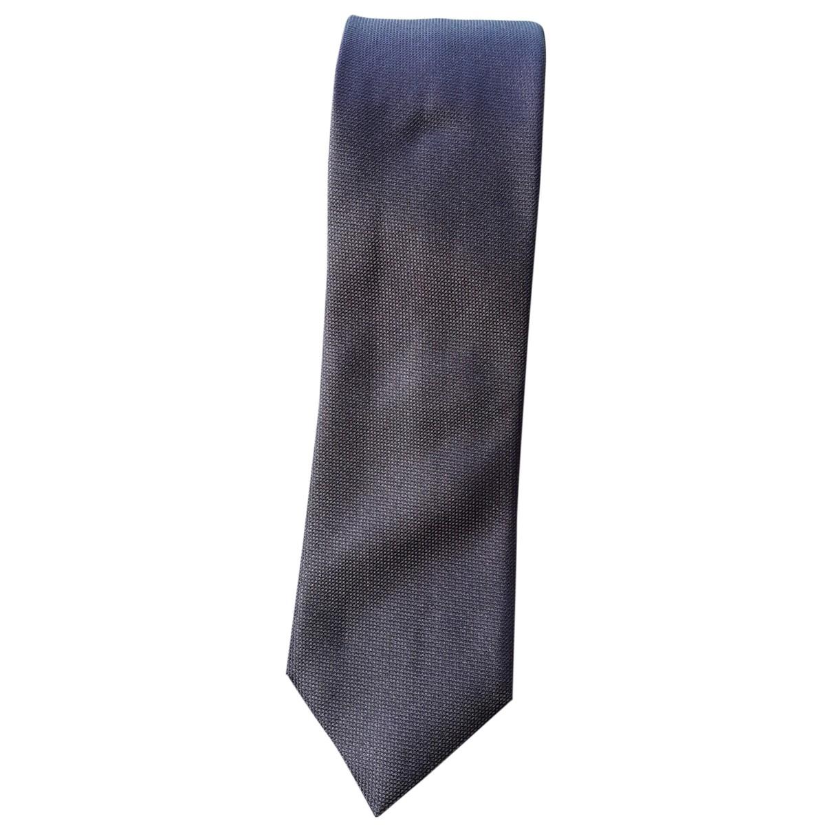 Pal Zileri - Cravates   pour homme en soie - metallise