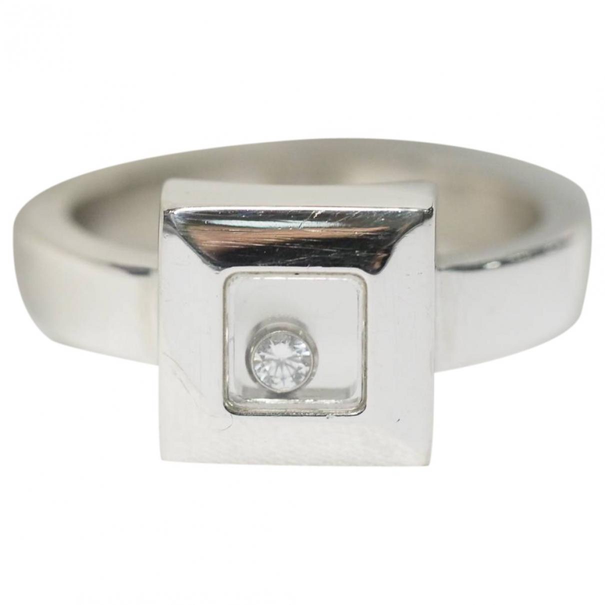 Chopard Happy Diamonds Ring in  Grau Weissgold