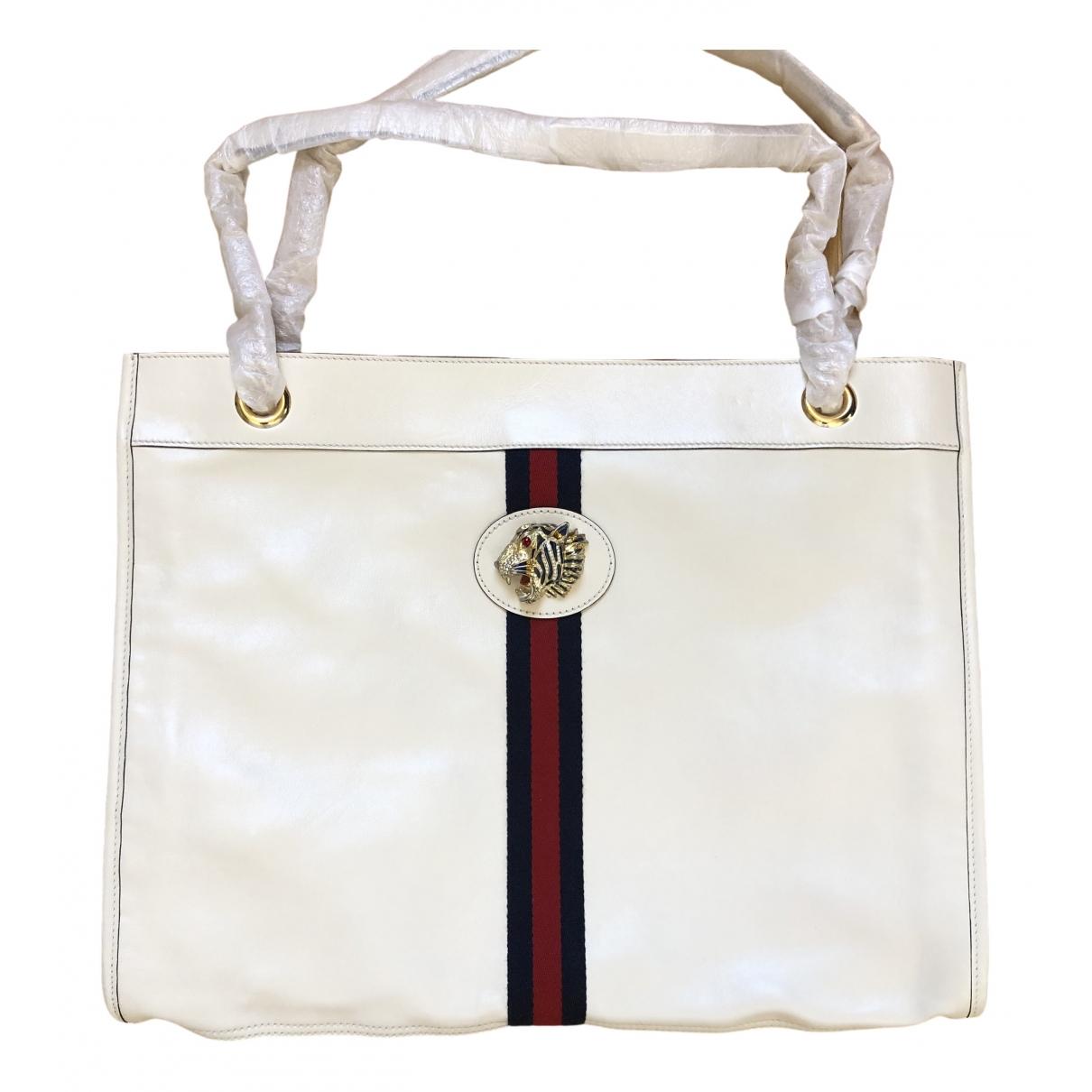 Gucci - Sac a main Rajah pour femme en cuir - blanc