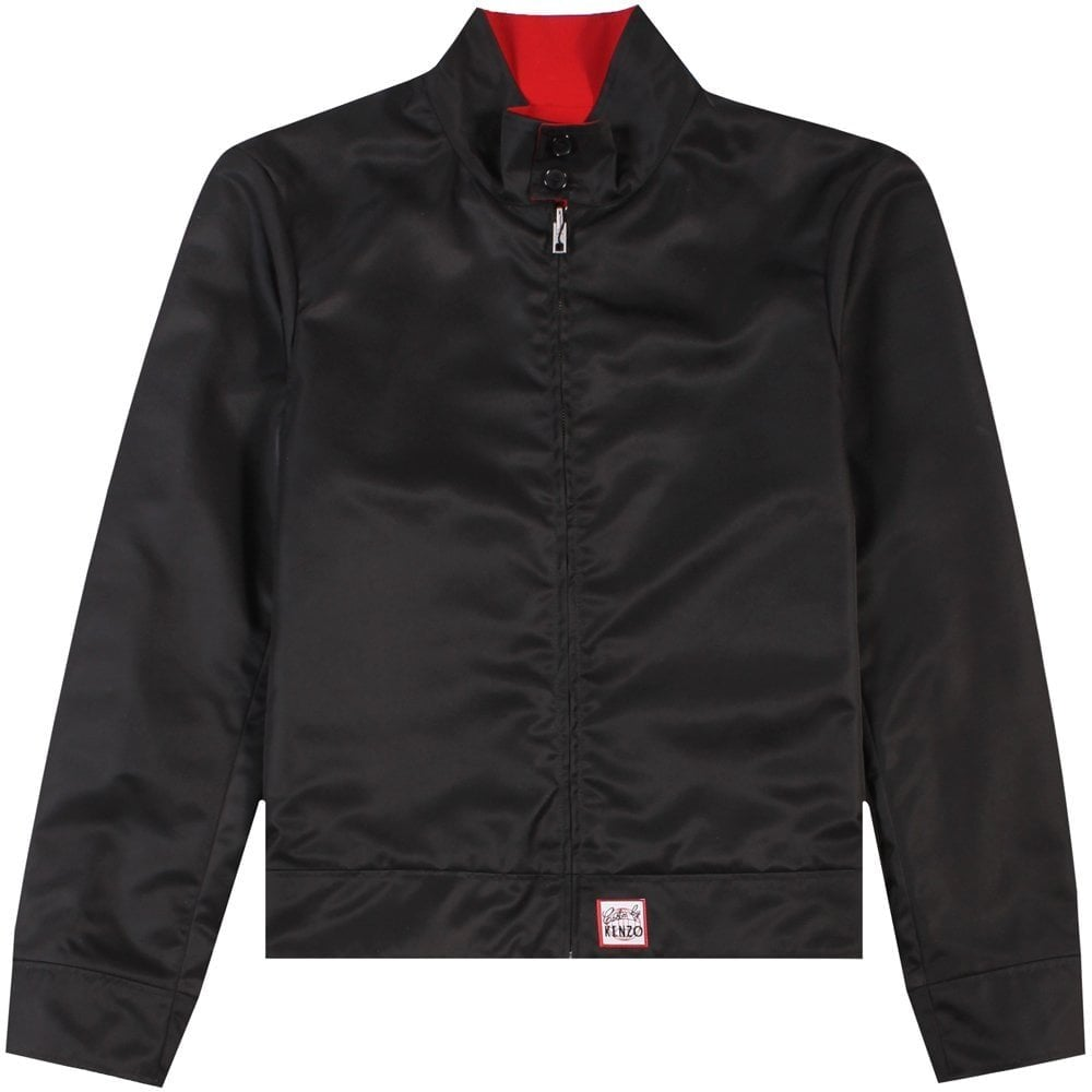 Kenzo Harrington Jacket Black Colour: BLACK, Size: SMALL