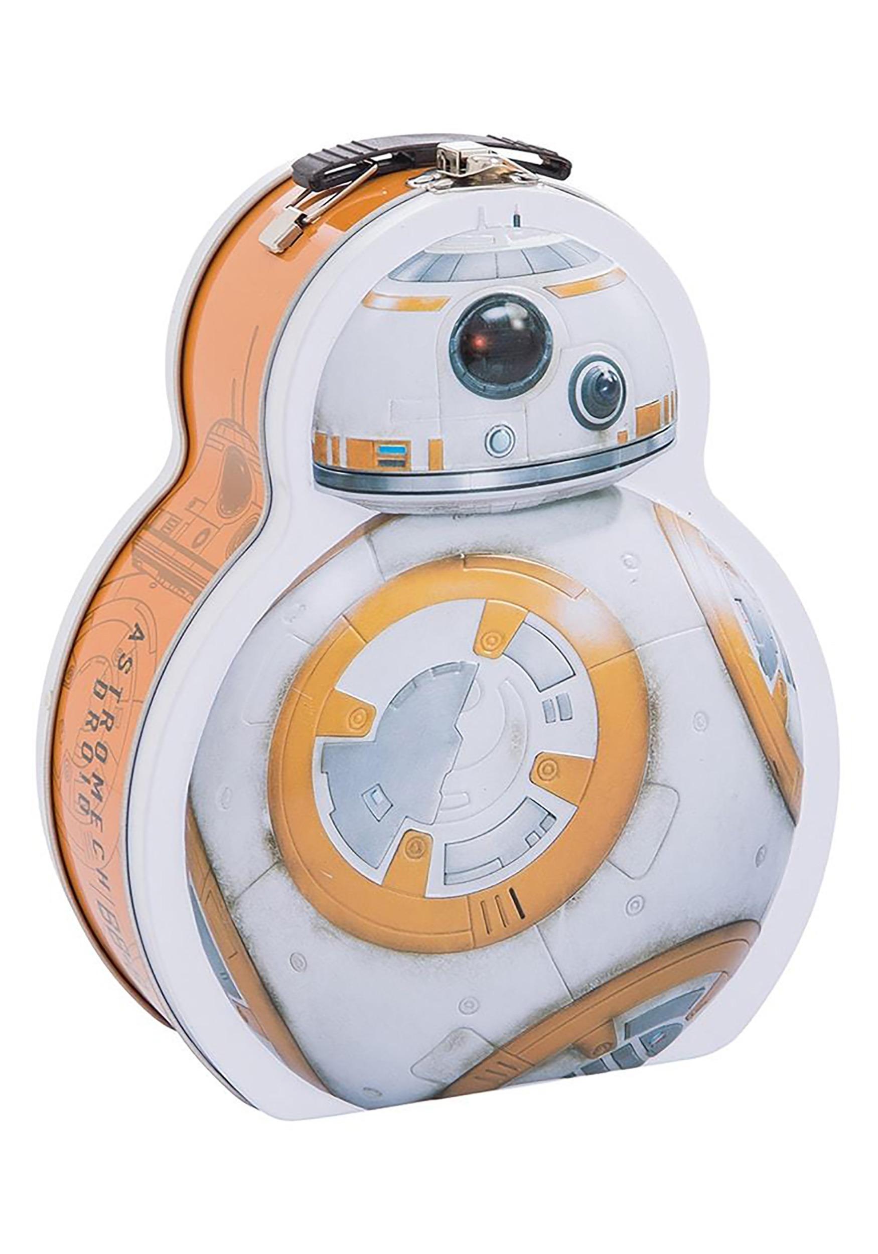 Star Wars BB-8 Shaped Lunch Box Tin Tote
