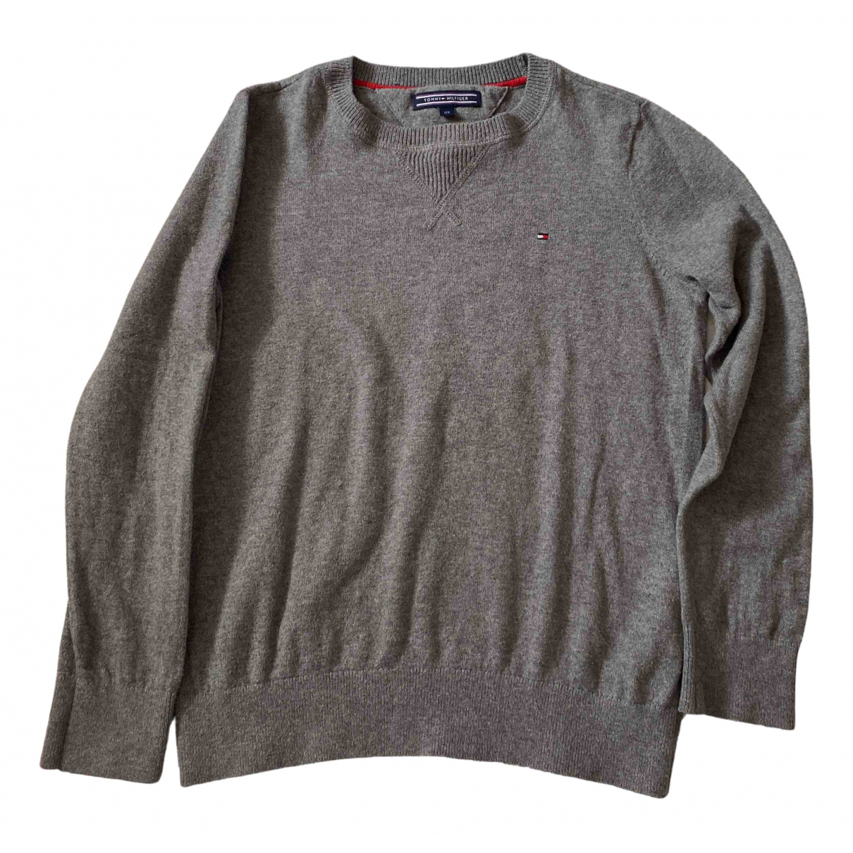 Tommy Hilfiger \N Grey Cotton Knitwear for Kids 8 years - up to 128cm FR