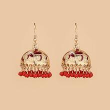 Ohrringe mit Perlen Anhaenger
