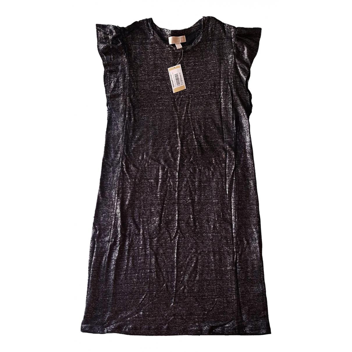 Michael Kors - Robe   pour femme en lin - noir