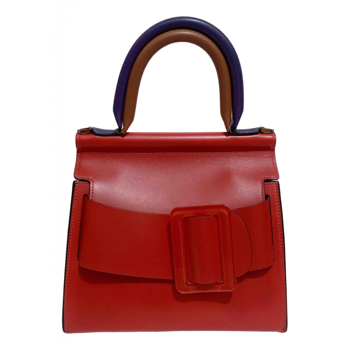 Boyy \N Handtasche in  Rot Leder