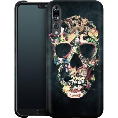 Huawei P20 Pro Smartphone Huelle - Vintage Skull von Ali Gulec