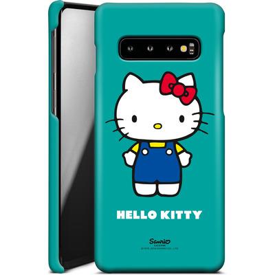 Samsung Galaxy S10 Smartphone Huelle - Hello Kitty Front von Hello Kitty