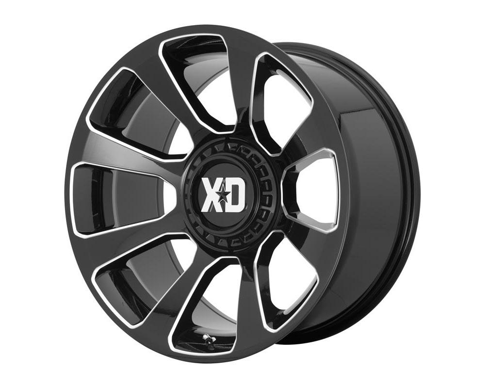 XD Series XD85429086300 XD854 Reactor Wheel 20.00x9.00 5X5.5/150 0 Gloss Black Milled