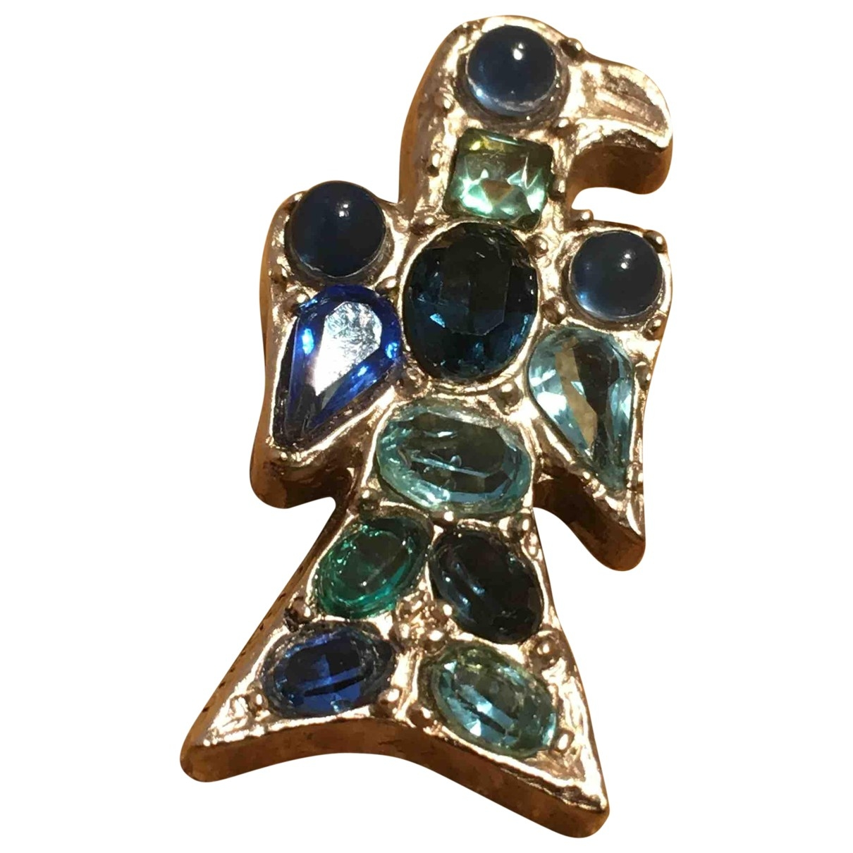 Chanel Baroque Blue Metal Pins & brooches for Women \N