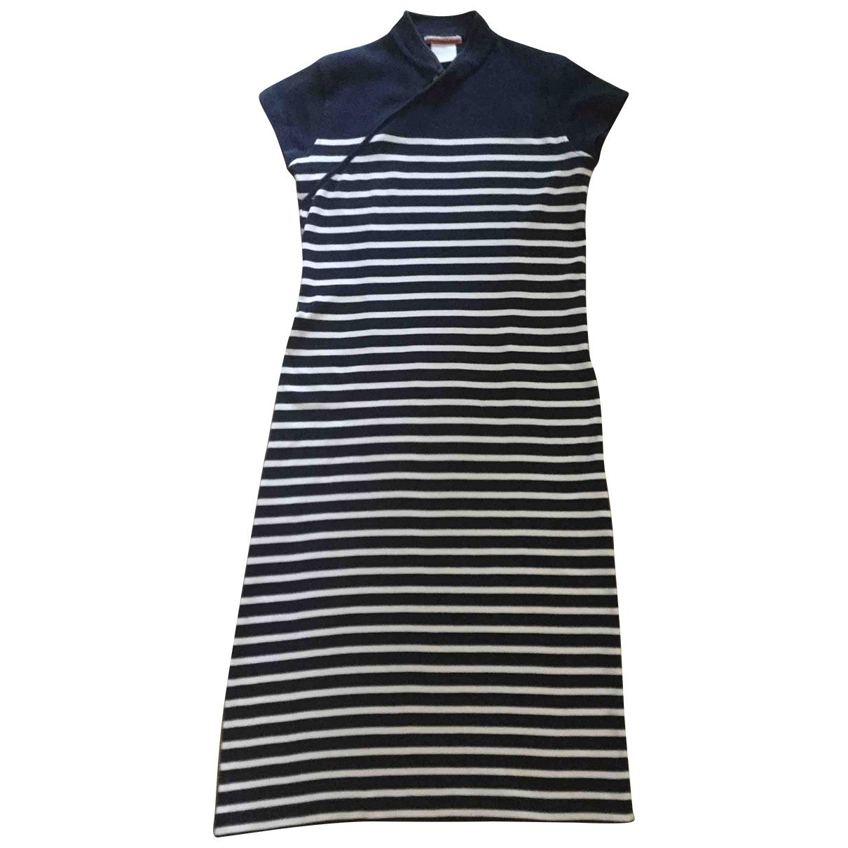 Jean Paul Gaultier \N Navy Cotton dress for Women M International