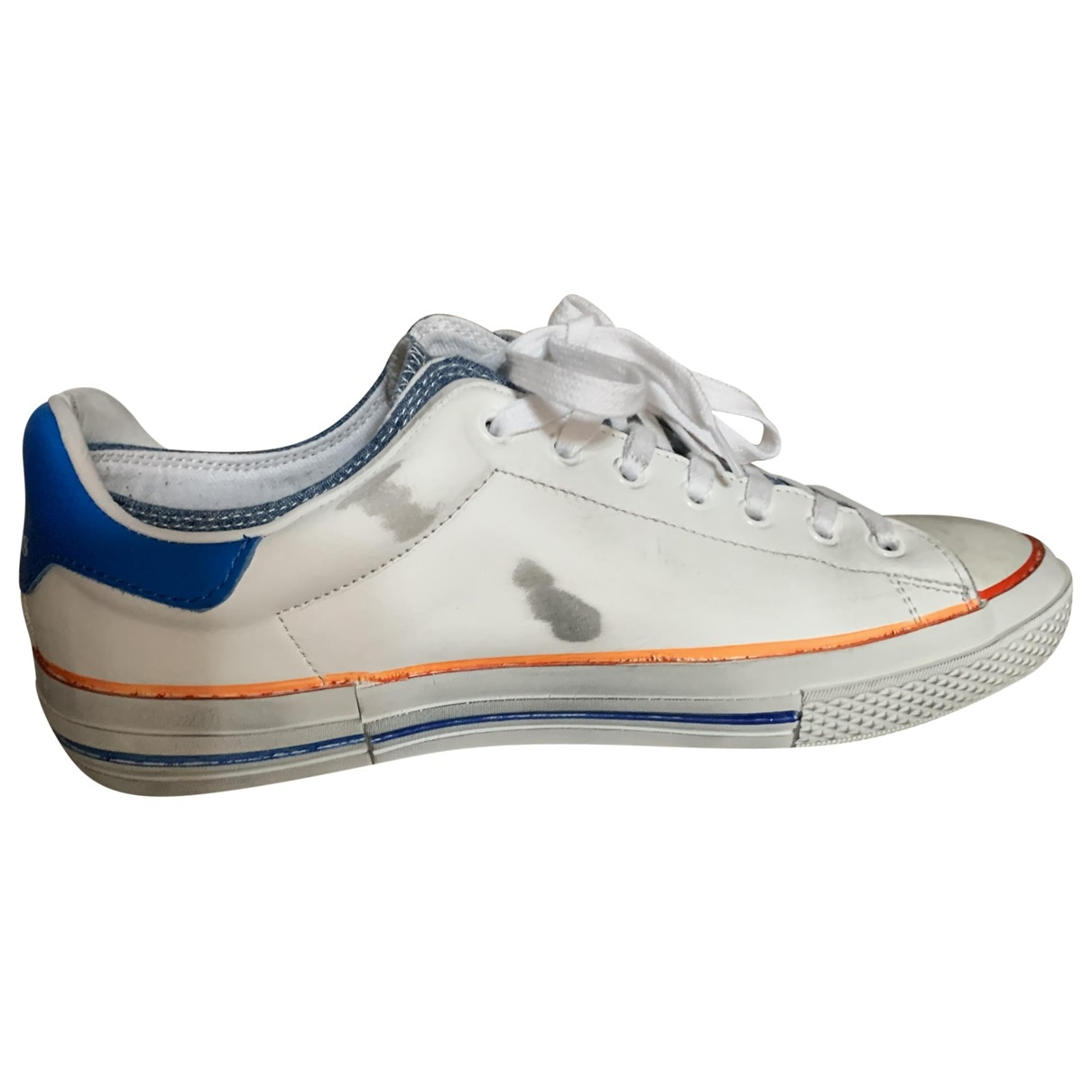 Golden Goose \N Sneakers in  Weiss Leder