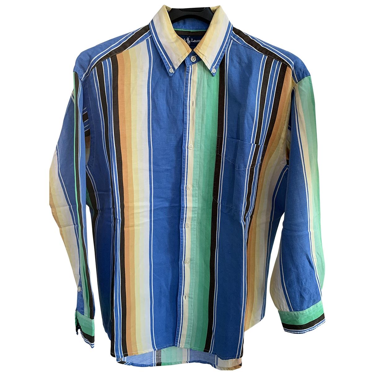 Ralph Lauren \N Hemden in  Blau Seide