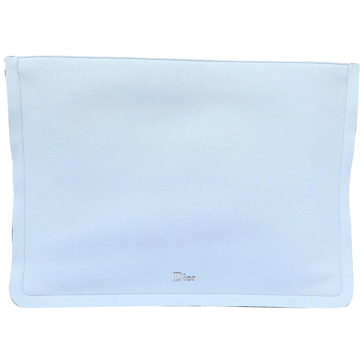 Dior \N Blue Leather Clutch bag for Women \N