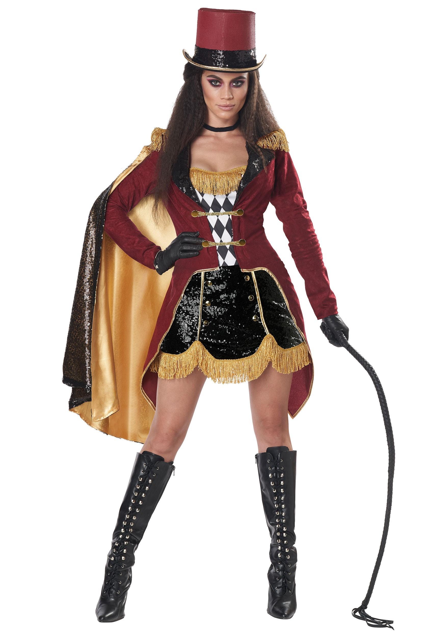 Dazzling Ringmaster Costume for Women