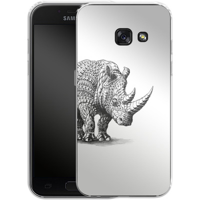Samsung Galaxy A3 (2017) Silikon Handyhuelle - Rhinoceros von BIOWORKZ