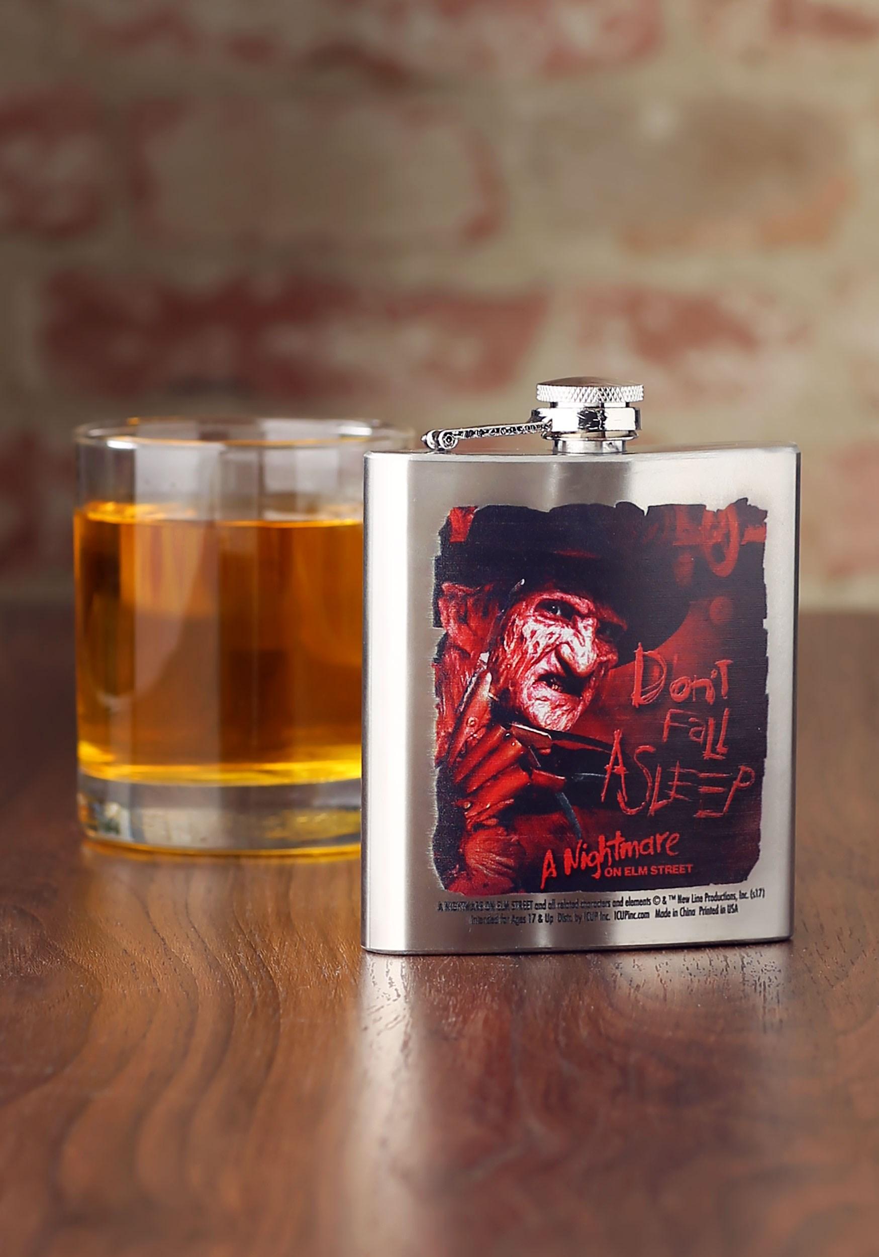 8 oz Nightmare on Elm Street Flask