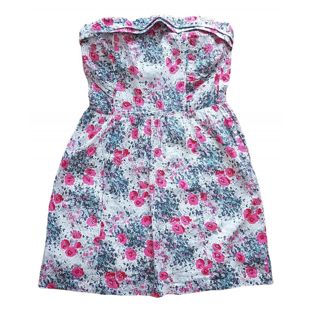 Comptoir Des Cotonniers - Robe   pour femme en coton - multicolore
