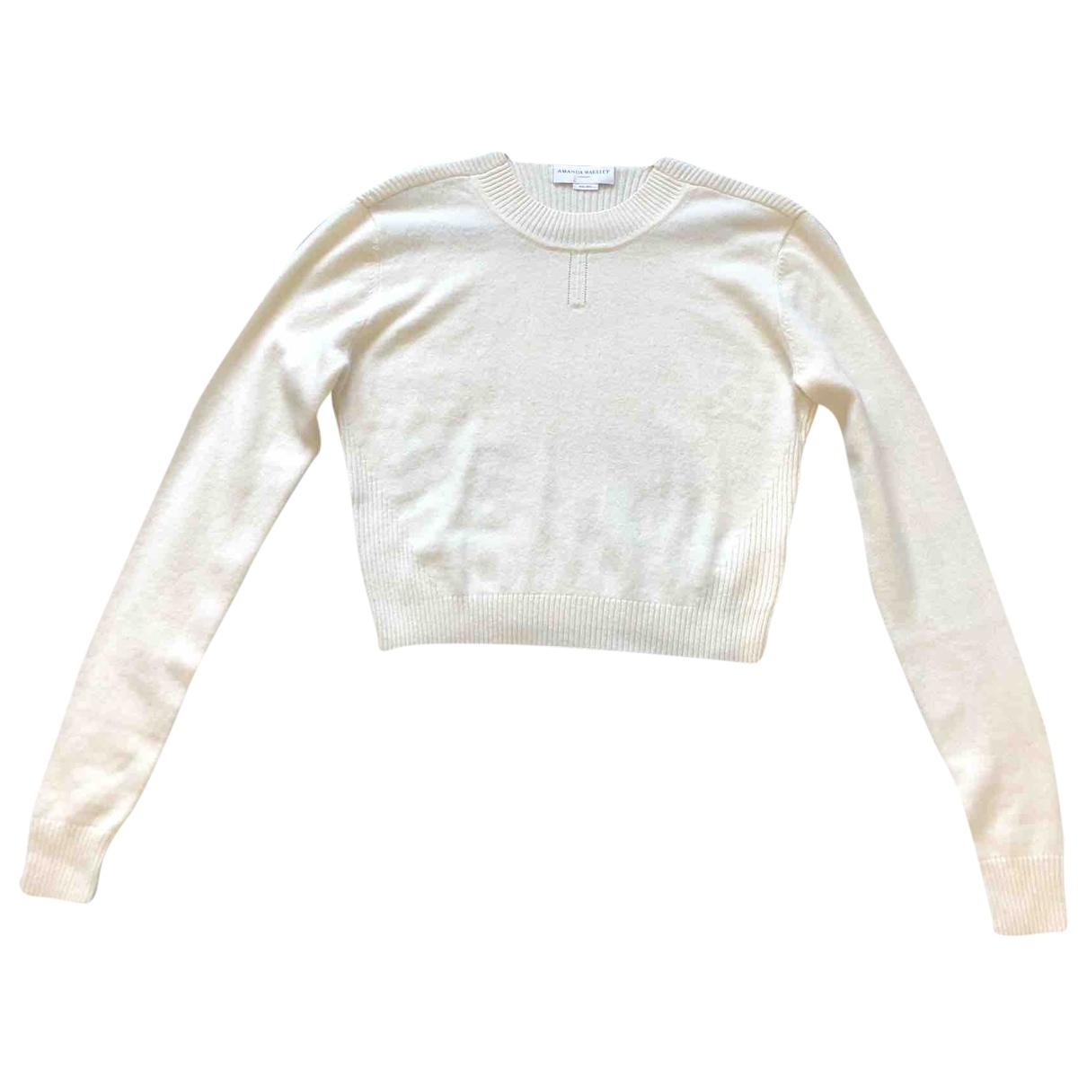 Amanda Wakeley - Pull   pour femme en cachemire - beige