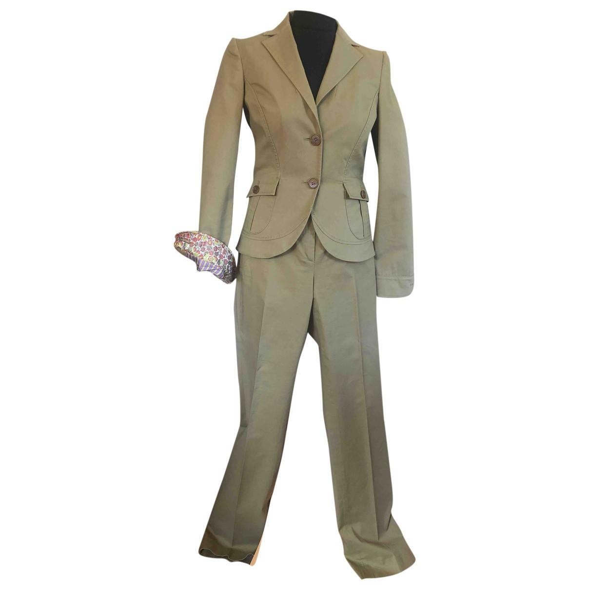 Etro \N Green Cotton jacket for Women 42 IT