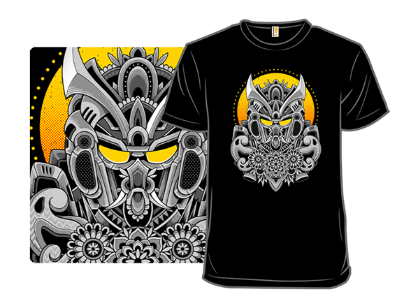 Oni Mecha T Shirt