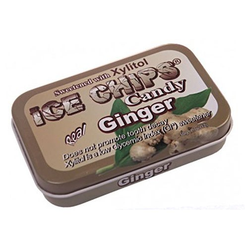 Ice Chips Candy Ginger 1.76 oz by Ice Chips Candy