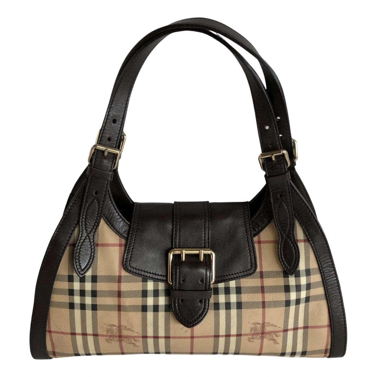 Burberry \N Beige handbag for Women \N