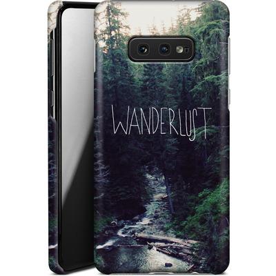 Samsung Galaxy S10e Smartphone Huelle - Wanderlust - Rainier Creek von Leah Flores