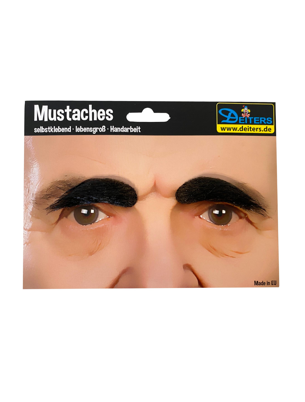 Kostuemzubehor Augenbrauen dunkelbraun