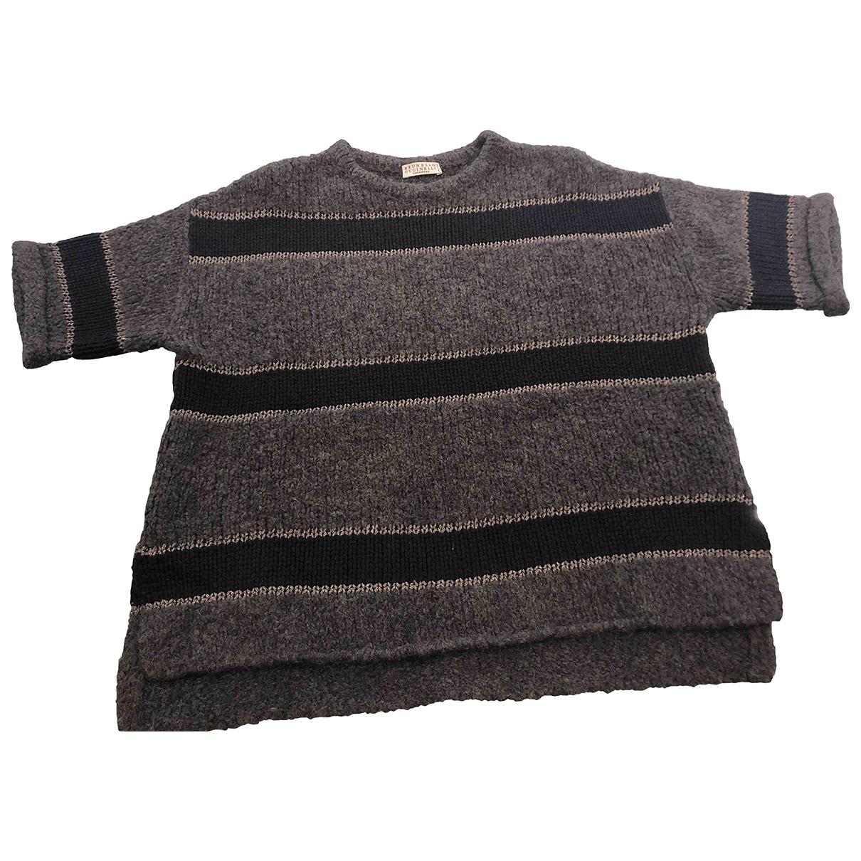 Brunello Cucinelli \N Grey Wool Knitwear for Women S International