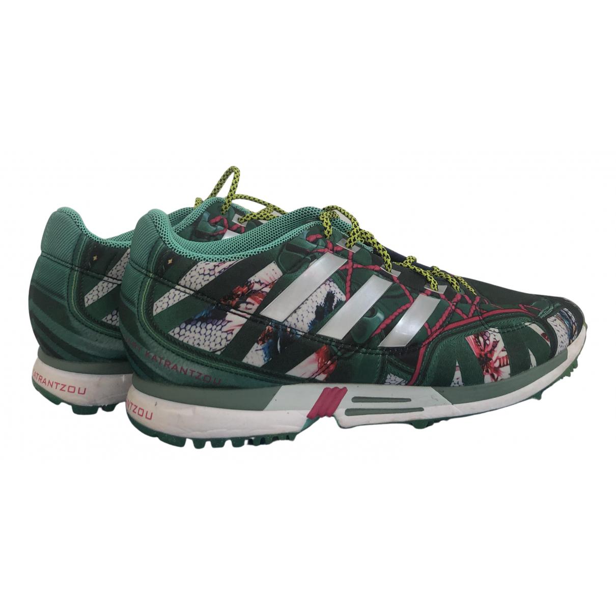 Mary Katrantzou For Adidas \N Sneakers in  Bunt Leinen