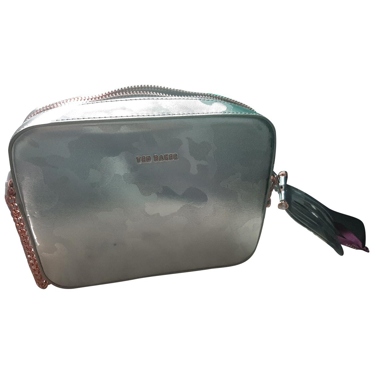 Ted Baker \N Handtasche in  Grau Leder